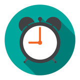 Alarm Clock in flat vector illustration - 79959389