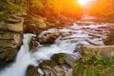 Fototapety mountain river