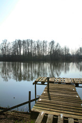 ponton de pêche