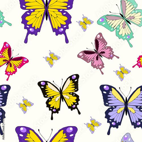 papier peint papillons vector papillon vol. Black Bedroom Furniture Sets. Home Design Ideas