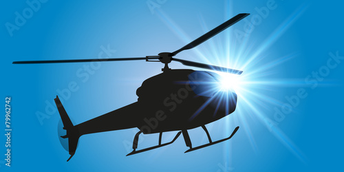 Hélicoptère - 79962742