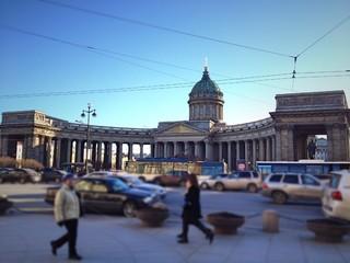 Kazansky Cathedral in Saint Petersburg