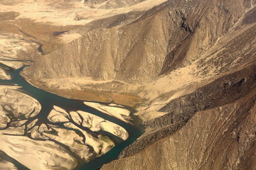 Yarlung tsangpo-river. Tibet-China. 1138