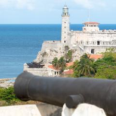 The fortress of El Morro in Havana