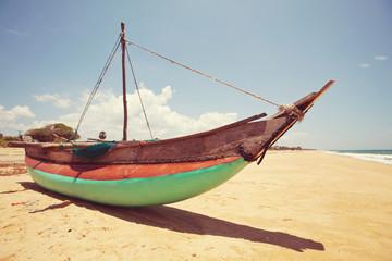 Boat on Sri Lanka