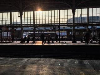 sillhouette passenger rail