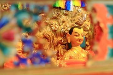 Tibetan Buddha figurine. Drepung monastery-Tibet. 1235
