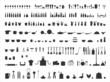 Küche Icons Silhouetten Set - 79965763