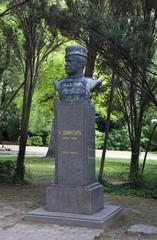 Monument to Hadzhi Dimitar in Varna. Bulgaria