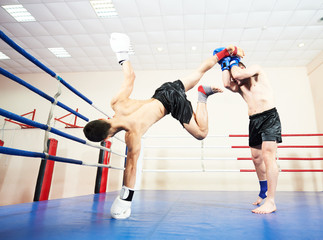 muai thai fighting technique