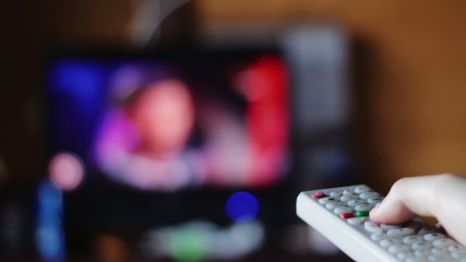 Switching channels on your TV remote control