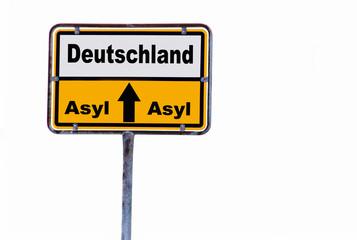 Asylbewerber für Deutschland