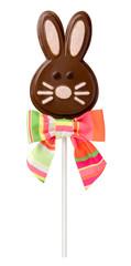 Chocolate Easter Bunny Lollipop