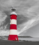 The Lighthouse on the Hoe - Plymouth, UK.