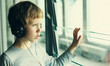 boy with headphones - 79972307