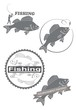 icons  of fishing - 79972362