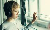 boy with headphones - 79972307