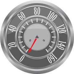 Retro Speedometer