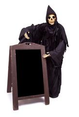 Grim Reaper offers a choice of menu