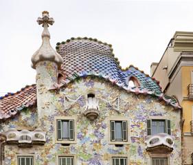 Casa Batllo in Barcelona. Spain