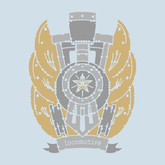 locomotive emblem
