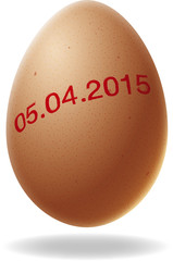 oeuf de pâques 2015