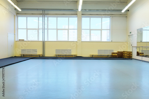 Foto op Canvas Stadion The interior of the dance studio