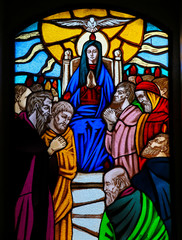 Stained Glass - Pentecost window