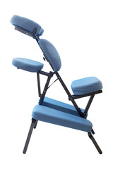 Blue massage chair