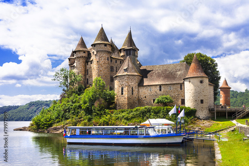 Keuken foto achterwand Noord Europa Chteau de Val - impressive medieval castles of France series