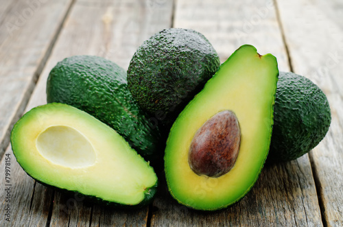 In de dag Vruchten avocado