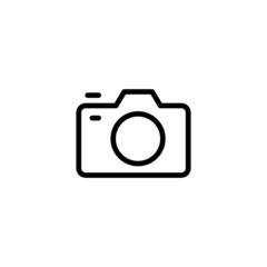 Camera - Trendy Thin Line Icon