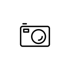 Camera - Trendy Thin Line Icon