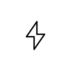 Lighting - Trendy Thin Line Icon