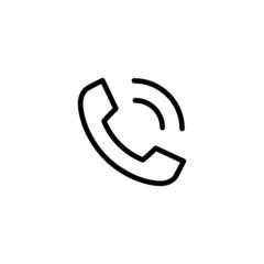 Phone Speaker - Trendy Thin Line Icon