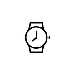 Watch - Trendy Thin Line Icon
