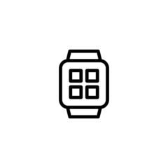 Smartwatch - Trendy Thin Line Icon