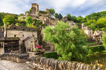 Belcastel - one of the most beautiful villages of France(Aveyron