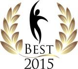 Best 2015 isolated logo