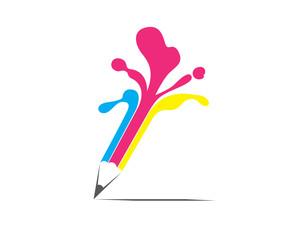 Creative Pencil Graphic