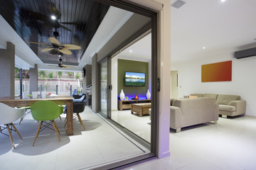 Stylish open home interior