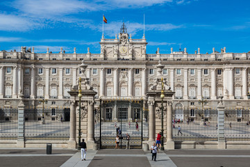 Royal Palace in Madrid, Spain