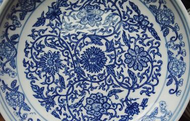 Indigo china ware
