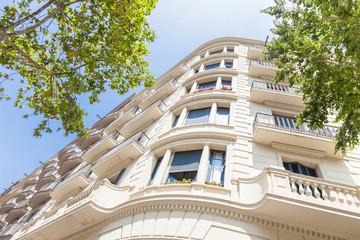Haus  - Hausfassade  in Spanien