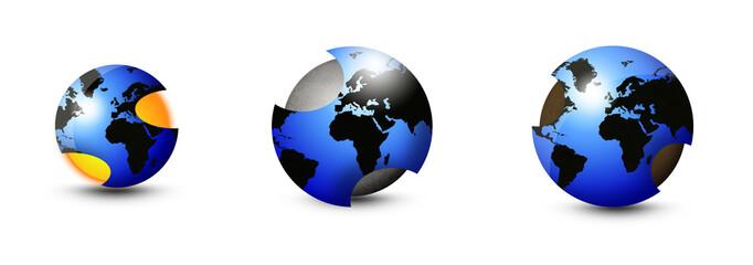 Erde / Erdkern / Hohle Erde / Earth