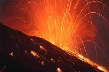 Japan, Kagoshima, Sakurajima Vulkanausbruch