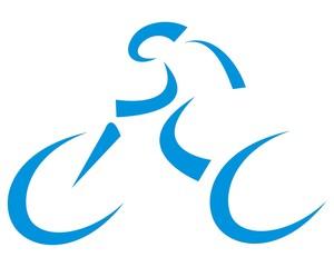blue bicycle logo