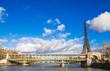パリ セーヌ��エッフェル塔