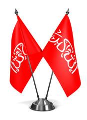 Waziristan - Miniature Flags.