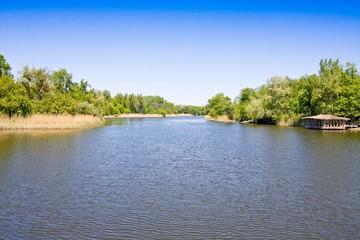Seversky Donets River, Kharkov, Ukraine